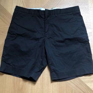 Classic black dress shorts